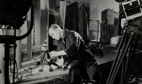 Karel Zeman při práci