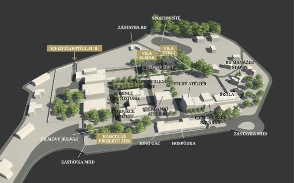 Zlin Hill mapa